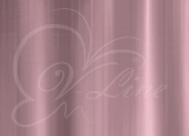 Шторка для ванной Vilina Розовый полиэстер 1800х1800мм