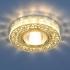 Точечный светильник MR16, 6034 золото/прозрачный