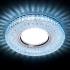 Светильник точечный Ambrella light S271 CL-CLD хром, прозрачный MR16+3W LED COLD