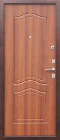 Дверь металлическая Гарда 1512 рустикальный дуб, правая 960