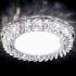 Светильник точечный Ambrella light G255 CH хром прозрачный хрусталь GX53+3W LED WHITE