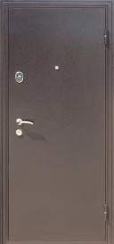Дверь металлическая Троя МДФ 16мм венге, правая 860