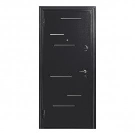 Дверь металлическая Меги 578-118Т ясень серый 2050x970мм левая