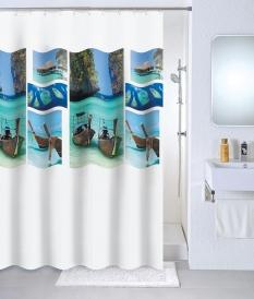 Шторка для ванной Milardo Paradise sky 534V180M11 PEVA
