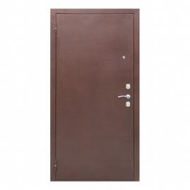 Дверь металлическая Ампир венге, левая 960