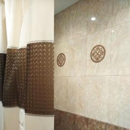 Штора для ванной комнаты Vanstore Peva Квадраты 180х180см 620-51