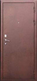 Дверь металлическая Гарда 1512 венге, левая 960мм