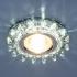 Точечный светильник MR16, 6037 сапфир/хром