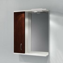 Зеркало Какса-А Венге 55см с подсветкой, левое
