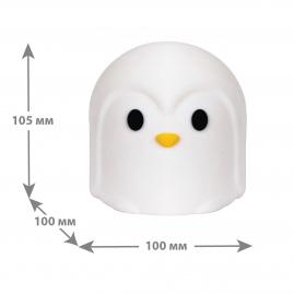 Ночник Camelion NL-301 светодиодный Пингвин  RGB 13792
