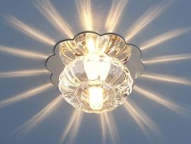 Точечный светильник SD847 G4 хром/белый (WH)