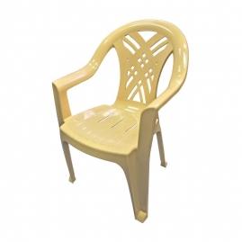 Кресло пластиковое Престиж-2 бежевый