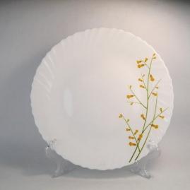"""Тарелка обеденная La Opala """"Лимонная ветвь"""" 25,4см CLASSIQUE19-W02"""