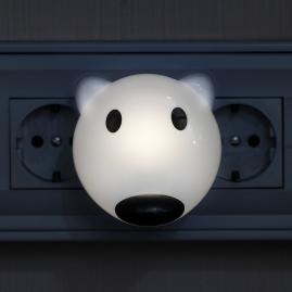 Ночник Эра NN-603-LS-W сенсор белый