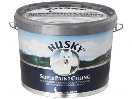 Краска потолочная HUSKY Super Paint Ceiling 10л
