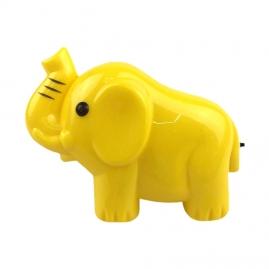 Ночник с выключателем Camelion NL-191, желтый слон, 220В