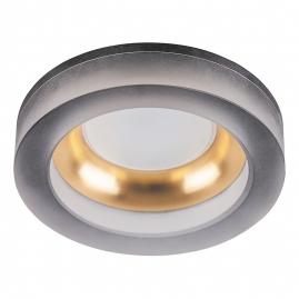 Светильник точечный Feron DL2541 MR16 13W G5,3 матовый черный золото круг 32636