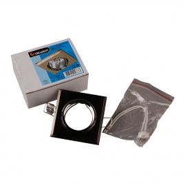 """Светильник точечный Акцент 16175 GQ """"лесенка"""" 50W GU5.3 матовый, хромированный никель"""