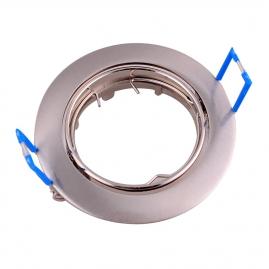 Точечный светильник Эра KL1A SN литой простой поворотный MR16,12V, 50W сатин никель