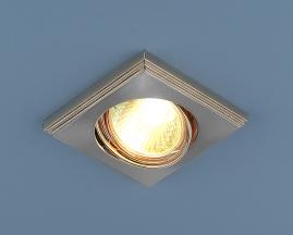 Точечный светильник 105A MR16 сатин никель/никель