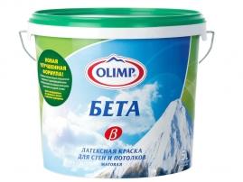 """Краска ОЛИМП """"Бета"""" для стен и потолков, латексная 5л"""