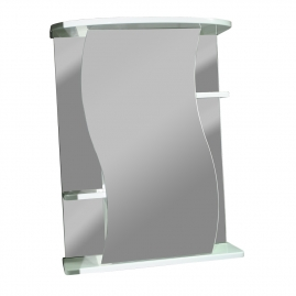 Шкаф-зеркало Акватория Лилия-60 без подсветки