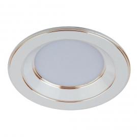 Светильник точечный Эра KL LED 15-9 WH-GD 9Вт 4000K белый, золотая окантовка 120мм