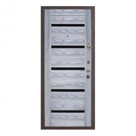 Дверь металлическая Меги 578-118Т ясень серый 2050x970мм правая