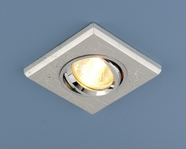 Точечный светильник 2080 серебро SC