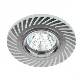 Светильник точечный Эра DK LD39 WH-CH MR16 белый-хром подсветка 3Вт Б0037376
