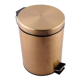 Бак для мусора, бронза 5л P816-5
