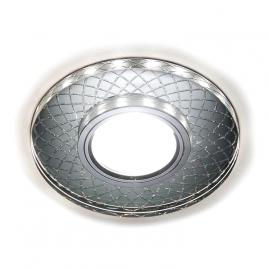 Светильник точечный Ambrella light с лентой S173 CL-CH хром-прозрачный MR16+3Вт LED ВтHITE