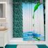 Штора для ванной комнаты Fora Лист PH13