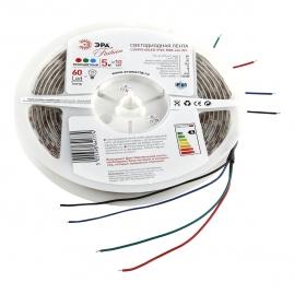 Лента светодиодная Эра LS5050 60LED 14.4Вт 5м RGB 12В IP65 LS5050-14,4-60-12-RGB-IP65-1 year-5m