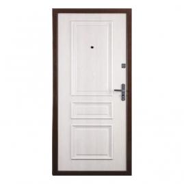 Дверь металлическая Прима дуб крем 2066x880мм правая
