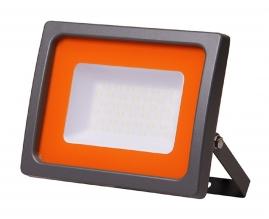 Прожектор светодиодный Jazzway PFL-SC-10w 6500K IP65 матовое стекло