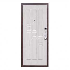 Дверь металлическая Гарда 1512 беленый ясень, правая 960