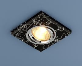 Точечный светильник 2080 черный/серебро SC
