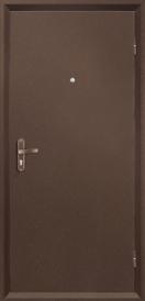 Дверь металлическая VALBERG Б3 МАСТЕР антик медный/Орион дуб пикар 2036x950мм правая