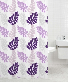 Шторка для ванной IDDIS Fern Dance, violet 421P20RI11