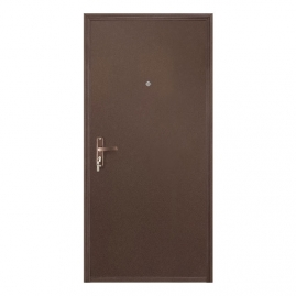 Дверь металлическая VALBERG Б2 ПРОФИ металл/металл антик медный 2036x850мм левая