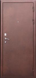Дверь металлическая Гарда 1512 беленый дуб, правая 860