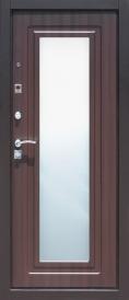 Дверь металлическая Царское Зеркало Венге левая 860мм