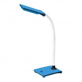 Лампа настольная Ultraflash светодиодная UF-714 C06 7Вт синяя 13783