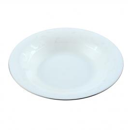 Тарелка суповая d21,5см серебряный перламутр SOP01-03