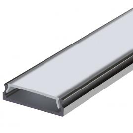Профиль для светодиодной ленты накладной анодированный 2м PAL 2406