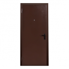 Дверь металлическая Меги 064 металл/металл 2050x860мм левая