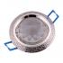 """Точечный светильник Эра KL9 PS/N литой """"антик+хрусталь """" MR16, 12V, 50W перламутр серебро/никель"""