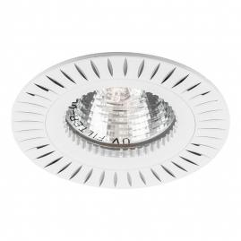 Светильник точечный Feron GS-M394W MR16 50W G5,3 белый 28342