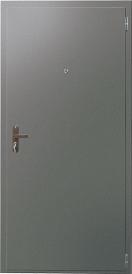 Дверь металлическая VALBERG Б1 ДТМ металл/металл титан 2050x850мм правая